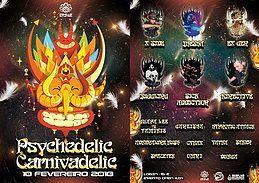 Party Flyer Psychedelic Carnivadelic 10 Feb '18, 23:00