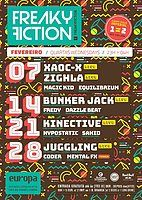 Party Flyer FREAKY FICTION 14 Feb '18, 23:00