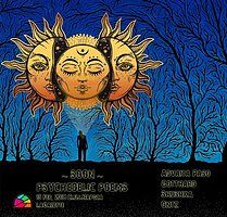 Party Flyer ▼ S ☼ ☾☽ N ▲ Psychedelic Poems 15 Feb '18, 23:00