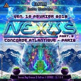 Party Flyer NEXUS - Part III 16 Feb '18, 23:30