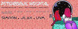 Party Flyer •★°•Psychedelic Hospital w// Si-Moon, Jilax •°★ 16 Feb '18, 22:00