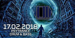 Party Flyer Enter the Void (Psytrance / Drum & Bass) at Void Club, Berlin 17 Feb '18, 23:00