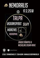 Party Flyer Goa Nemoralis w/ TALPA 17 Feb '18, 22:00