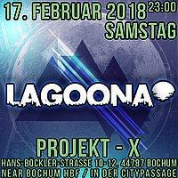 Party Flyer ★Lagoona★ Progressive & Psychedelic Trance / Goa Xperience 17 Feb '18, 23:00