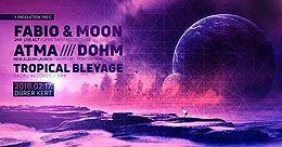 Party Flyer New Moon Winter Festival 17 Feb '18, 22:00