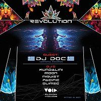 Party Flyer Revolution Psychedelic Party 17 Feb '18, 20:00