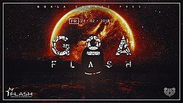 Party Flyer Goa Flash 23 Feb '18, 23:00