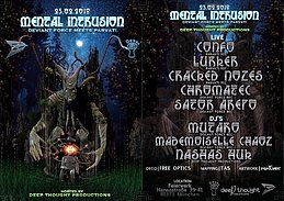 Party Flyer Mental Intrusion - Deviant Force meets Parvati 23 Feb '18, 23:00