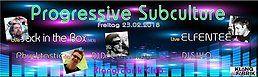 Party Flyer Progressive Subculture 23 Feb '18, 23:00