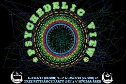 Party Flyer PSYCHEDELIC VIEW 24 Feb '18, 08:00