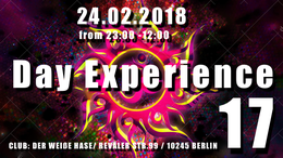 Party Flyer Day Experience 17 w 24 Feb '18, 23:00