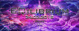 Party Flyer ๑ EQilibrium GOA (Prog. Special) ๑ 24 Feb '18, 22:00