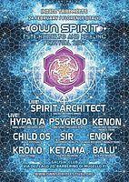 Party Flyer OWN SPIRIT FESTIVAL teaser party 24 Feb '18, 23:00