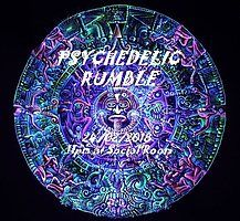 Party Flyer Psychedelic Rumble 24 Feb '18, 23:00