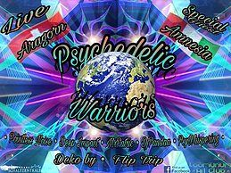 Party Flyer ॐ •:★ Psychedelic Warriors ★:•ॐ 24 Feb '18, 22:00