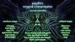 Party Flyer PsyDive : Crystal Transmission ॐ 24 Feb '18, 22:00