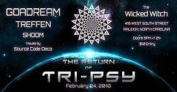 Party Flyer ॐThe Return Of Tri-Psy 24 Feb '18, 21:00