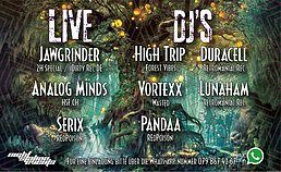 Party Flyer Trip to Forest 5 / In/Outdoor - Winterthur (ZH) 24 Feb '18, 22:00