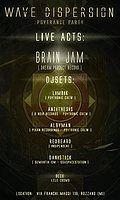 Party Flyer Wave Dispersion - Psytronic Psytrance Party 24 Feb '18, 23:00