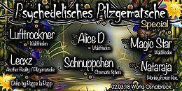 Party Flyer Psychedelisches Pilzgematsche Special 2 Mar '18, 22:00