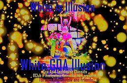Party Flyer White GOA Illusion 2 Mar '18, 22:00