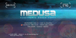 Party Flyer MEDUSA Electronic Beach Party 3 Mar '18, 17:00