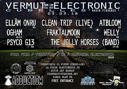 Party Flyer VERMUT ELECTRONIC 3 Mar '18, 12:00