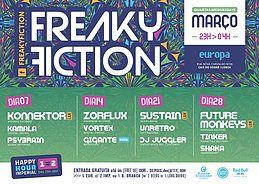 Party Flyer FREAKY FICTION 7 Mar '18, 23:00