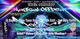 Party Flyer 100% Proggy! Magical Offbeat 9 Mar '18, 23:00