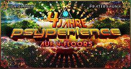 Party Flyer 4 JAHRE PSYPERIENCE SPECIAL -auf 4 Floors! 9 Mar '18, 22:00