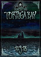 Party Flyer Back To Tortuga Bay 10. Mrz. 18, 22:00