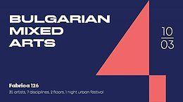 Party Flyer ● Bulgarian Mixed Arts IV ● 10 Mar '18, 20:00