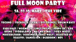 Party Flyer Full Moon Party #18 10 Mar '18, 22:00