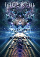 Party Flyer IllusiOm Party Sat 10th March@ Club 414>Liquid Ross & ManyMore! 10 Mar '18, 23:00