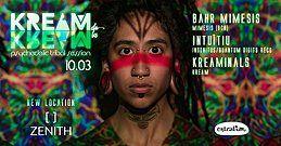 Party Flyer KREAM de la KREAM @Sala Zenith 10 Mar '18, 23:55