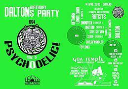 Party Flyer Spirit of Psychodelic Daltons Birthday 10 Mar '18, 22:00