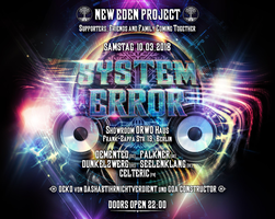 Party Flyer System Error (404) 10 Mar '18, 22:00