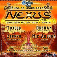 Party Flyer NEXUS - Part IV 16 Mar '18, 23:30