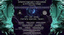 Party Flyer CANARY CONNECTION - ATLANTIS TRIBE+ DREAMS PROYECT 17 Mar '18, 22:00
