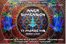 Party Flyer Inner Dimension Vol2 17 Mar '18, 19:00