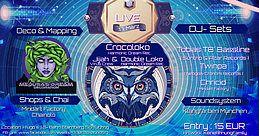 Party Flyer Israel Calling mit Crocoloko, Jijah und Double Loko 17 Mar '18, 22:00