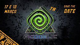 Party Flyer Picodelic #7 17 Mar '18, 18:00