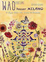 Party Flyer Wao Festival - teaser Milan 17 Mar '18, 23:00