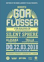 Party Flyer Goaflösser - Benefiz für kalpas.ch 22 Mar '18, 21:00