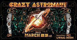 Party Flyer A Silent Night :: w/ Crazy Astronaut :: Nocturna Project 23 Mar '18, 22:30