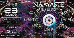 Party Flyer Free x Lista! Vier 23/3 Namaste 11 Aniversario @Vox Club 23 Mar '18, 23:55