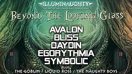 Party Flyer IllumiNaughty presents: Beyond the Looking Glass - London 23 Mar '18, 22:00