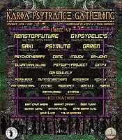 Party Flyer KampKaria Psytrance Music - Sarsala Koyu Buluşması 23 Mar '18, 12:00