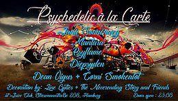 Party Flyer Psychedelic À La Carte 23 Mar '18, 23:00