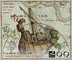 Party Flyer Argo Navis - Psychedelic Trance Party 24 Mar '18, 22:00